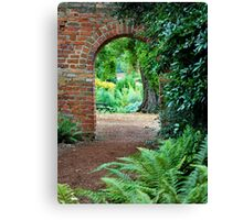 Through to the other side Canvas Print