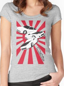 All Generations Jap Design Women's Fitted Scoop T-Shirt