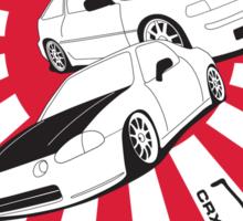 All Generations Jap Design Sticker
