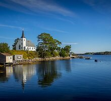 Indian Point on Mahone Bay, Nova Scotia, Canada by mlphoto