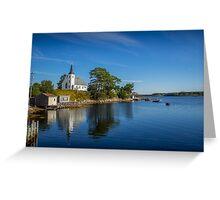 Indian Point on Mahone Bay, Nova Scotia, Canada Greeting Card