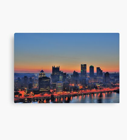 Pittsburgh Revisited III HDR Canvas Print