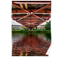 Bridge over Untroubled Waters Poster