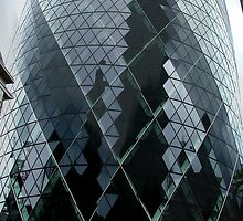 The Gherkin - No.30 St Mary Axe London by Colin  Williams Photography