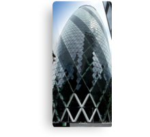 The Gherkin - No.30 St Mary Axe London Canvas Print