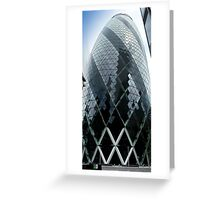 The Gherkin - No.30 St Mary Axe London Greeting Card