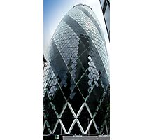The Gherkin - No.30 St Mary Axe London Photographic Print