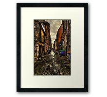Cobbles Framed Print