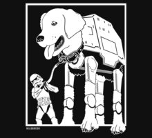 The Dog Walker by HelloGreedo