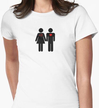 50% Geek Love Womens Fitted T-Shirt