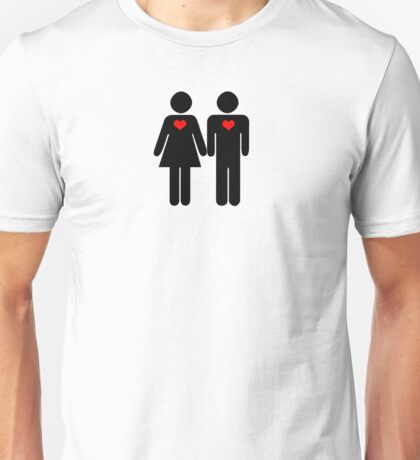 0% Geek Love Unisex T-Shirt