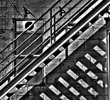 Shadowplay #3 - Cockatoo Island (Monochrome) - The HDR Experience by Philip Johnson