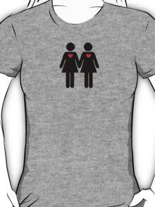 0% Geek Love F T-Shirt