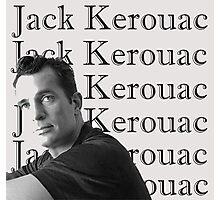 Jack Kerouac Portrait Photographic Print