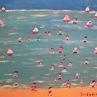 Swimming by Detlev  Jurkuhn