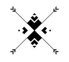 Arrow Compass Photographic Print