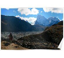 Across the Glacier We Go Poster