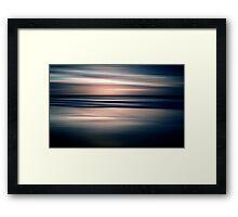 Beach Abstract Framed Print