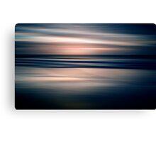 Beach Abstract Canvas Print