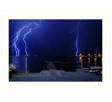 Thunderstorm Art Print