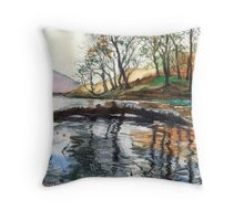 """...""""Lanty's Tarn"""" after mikebov photo. Throw Pillow"""