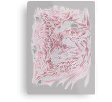 Rose Fox Metal Print