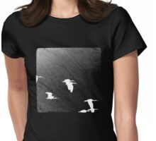 Fly By Night Womens Fitted T-Shirt