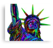Liberty She Shouted Canvas Print