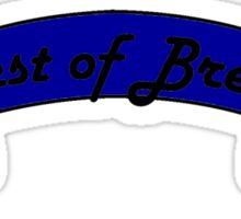 Best of Breed Ribbon Sticker