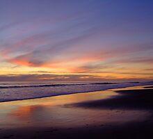 Dogbeach sunset by WhiteSpirits