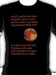 Tied Moon. T-Shirt