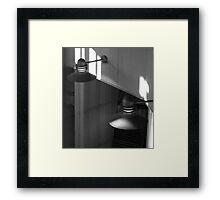 Lamps Framed Print