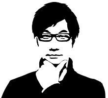 Hideo Kojima by rayes88