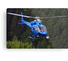 BBC News Helicopter Metal Print