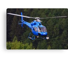 BBC News Helicopter Canvas Print