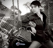 Biker Chic 2009 by Peter Chapple