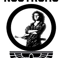 Nostromo; Tribute to Ripley V.1 (White) by Hettika