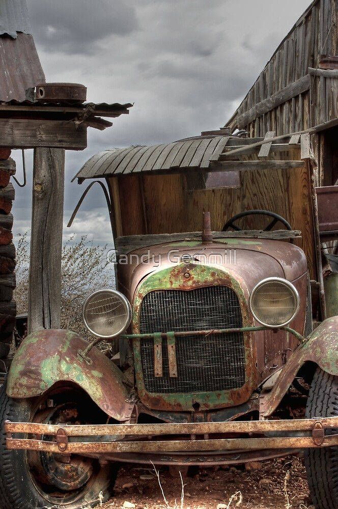 "Jerome, Arizona - ""Time Traveler"" by Candy Gemmill"