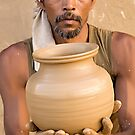 Earthen Pottery#6 by Mukesh Srivastava