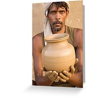 Earthen Pottery#6 Greeting Card