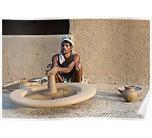 Earthen Pottery#7 Poster