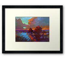 """""""Tequila Sunrise"""" Framed Print"""