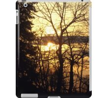 Quebec Canada Beautiful Sunset  iPad Case/Skin