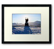 The Commando Memorial Framed Print