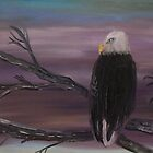 An American Eagle by Monika Howarth