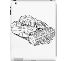 Security Tank iPad Case/Skin