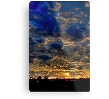 Warwick Sunset Metal Print