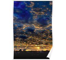 Warwick Sunset Poster