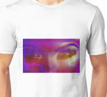 Up Close and Personal Female Portrait Art Unisex T-Shirt