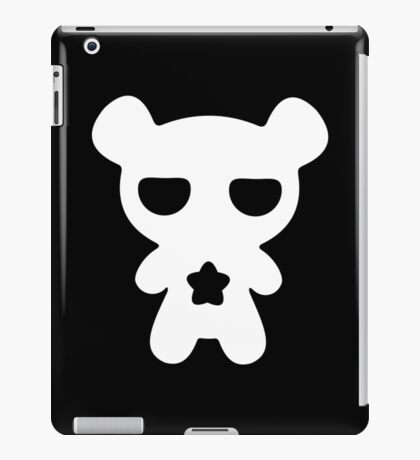 Lazy Bear Black and White iPad Case/Skin